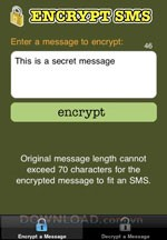 Encrypt SMS for iOS