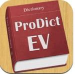ProDict EV for iOS