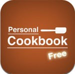 Personal Cookbook Free for iPad