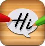 Handwriting LiiHo Messenger for iPad
