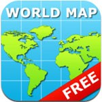 World Map for iPad Free
