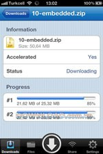 Speedy Downloader for iPhone