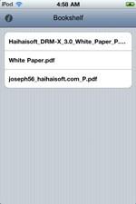 Haihaisoft Reader for iPhone