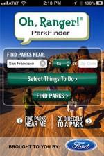 Oh, Ranger! Parkfinder for iOS
