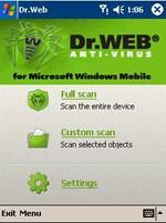 Dr.Web Anti-virus for Windows Mobile