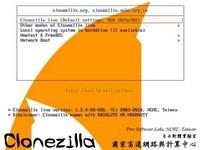Clonezilla LiveCD (32-bit) for Linux