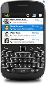 Kik Messenger for BlackBerry
