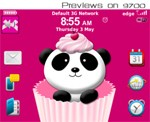 Cherry Panda for BlackBerry