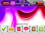 Paint Happy Theme for BlackBerry