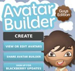 Avatar Builder Guys Edition For Blackberry