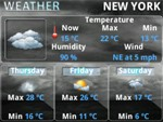 Weather App for BlackBerry