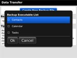Data Transfer for BlackBerry