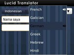 Lucid Translator for BlackBerry