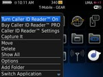 Caller ID Reader for Blackberry