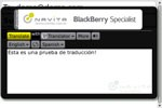 Translator for BlackBerry NAVITA