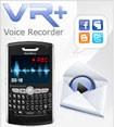 VR +: Voice Recorder for BlackBerry
