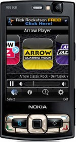 Arrow Player for Symbian