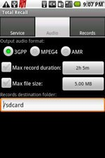 Total Recall Call Recorder (Symbian Series 60)