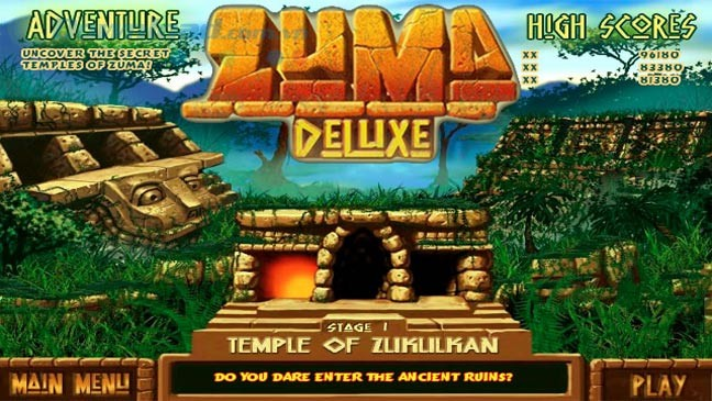 How To Play The Classic Game Zuma Deluxe Ball Shoots
