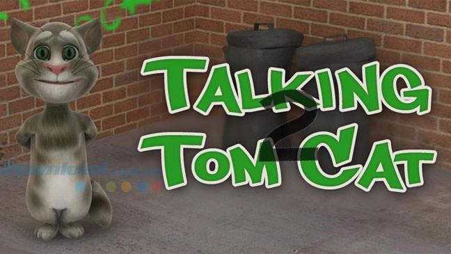 Том говорящий кот 2 скачать для андроид