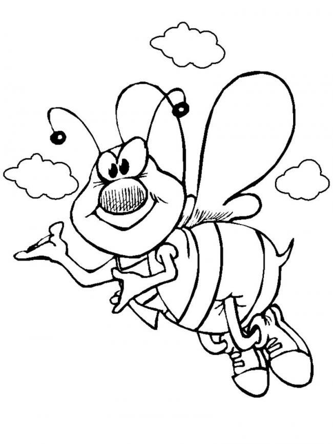 सुंदर मधुमक्खी रंग चित्रों का संग्रह