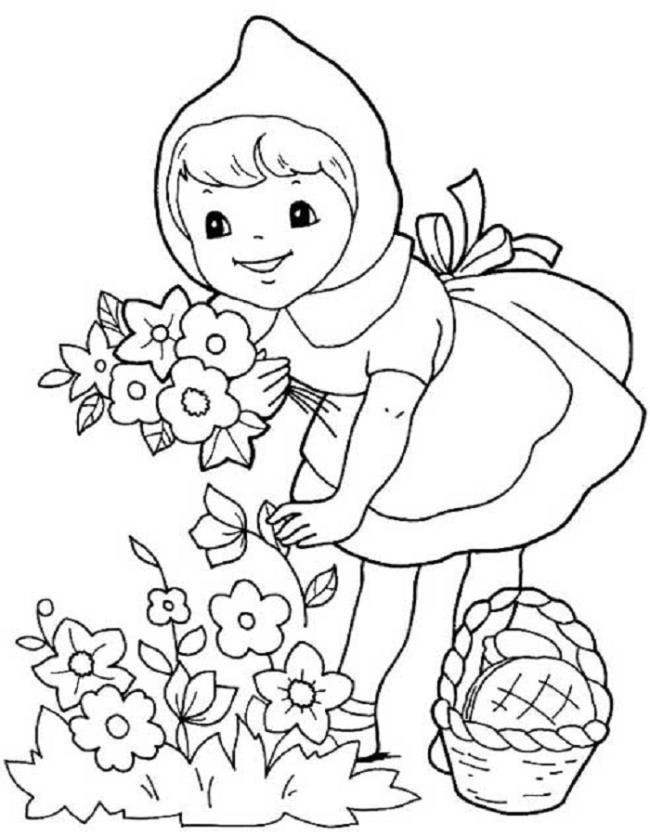 Sammlung der schönsten Gartenbilder für Kinder