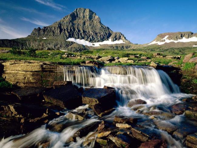 एक सुंदर वॉलपेपर के रूप में प्राकृतिक परिदृश्य की तस्वीरें