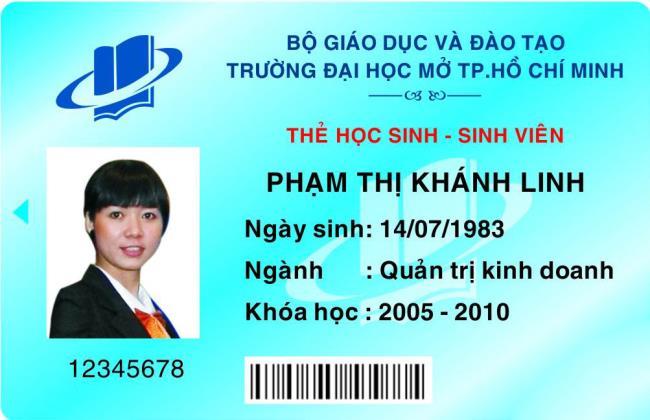 Resumo da imagem do modelo de cartão de estudante bonito