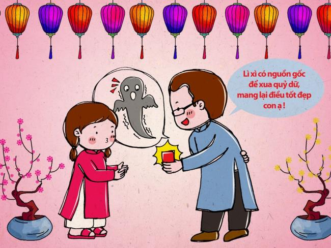 Gambar lucu sintesis untuk menyambut tahun baru