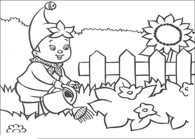 Zusammenfassung der schönen und einfachen Malvorlagen für 5-jährige Babys