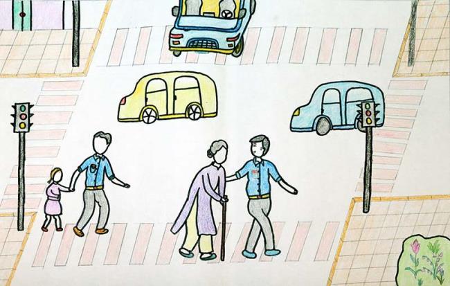 यातायात सुरक्षा विषयों की सबसे खूबसूरत तस्वीरों का सारांश