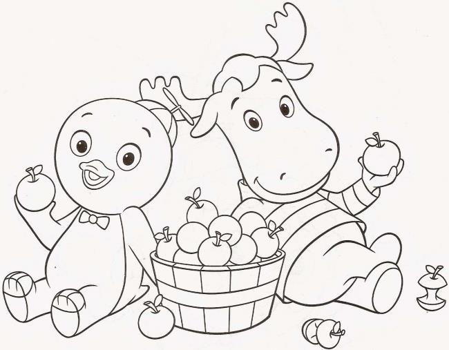5 वर्षीय बच्चों के लिए सुंदर और सरल रंग चित्रों का सारांश