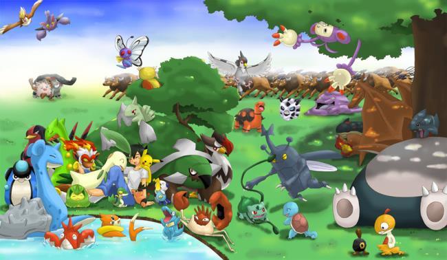 مجموعة من اجمل صور البوكيمون