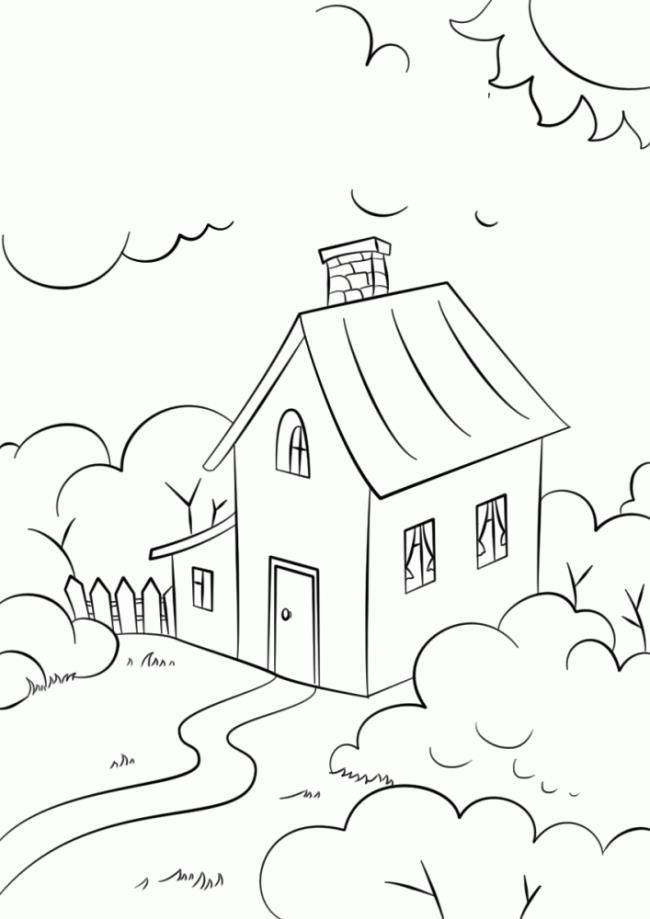 Koleksi lukisan warna rumah yang paling indah