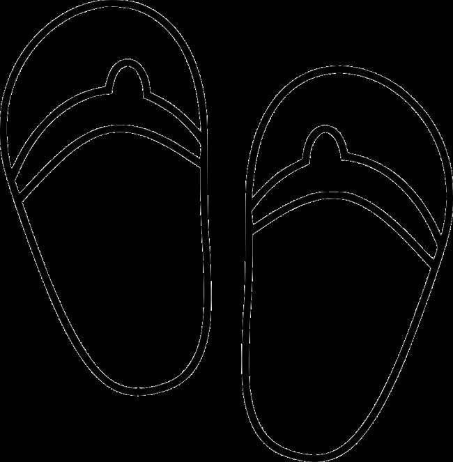 Sammlung der besten Malvorlagen von Sandalen für Kinder