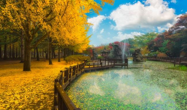 Sammlung der schönsten Bilder Koreas
