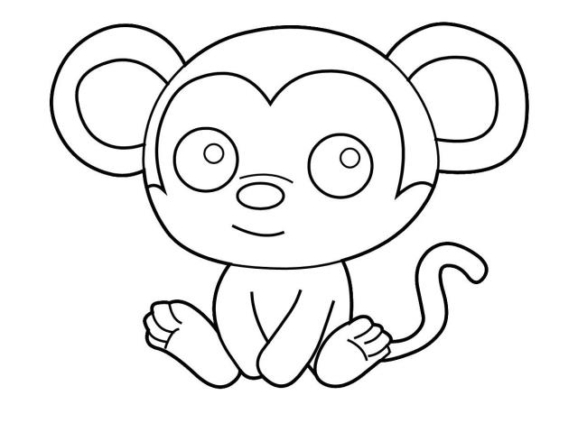 Collection d'images à colorier simples pour les bébés de 2 ans