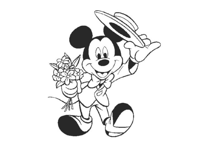 Sammlung der schönsten Mickey Mouse Malvorlagen