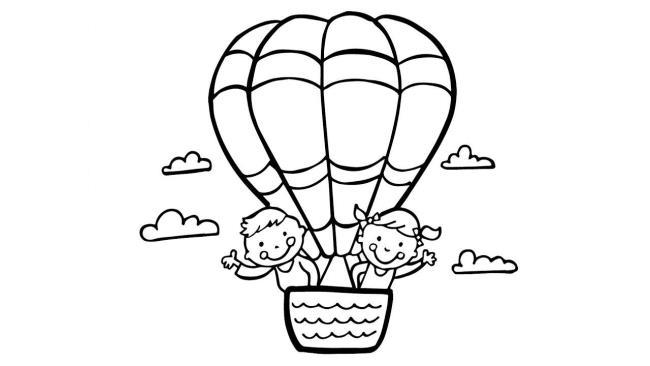 बच्चे के गुब्बारे के सबसे सुंदर रंग चित्रों का संग्रह