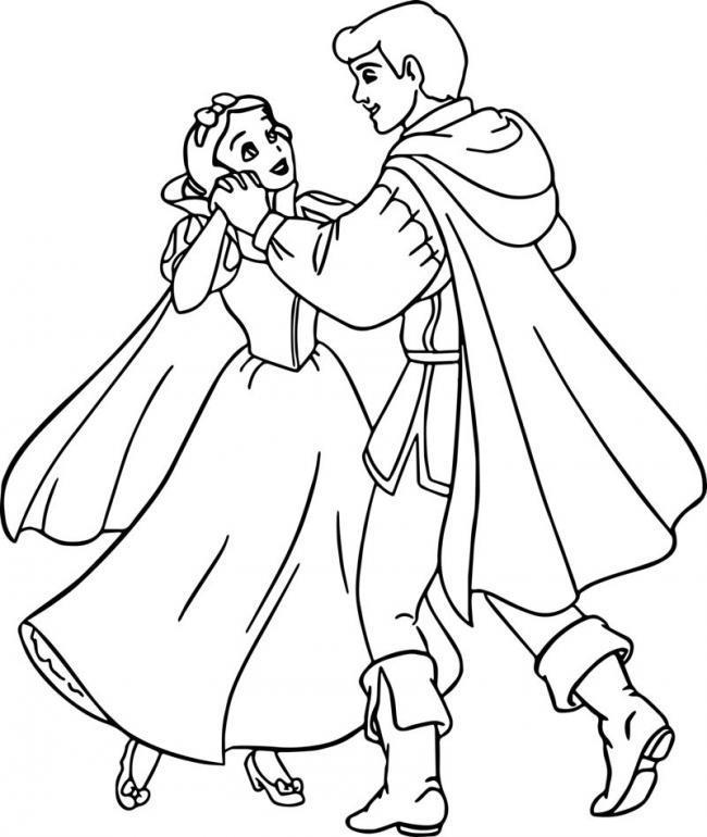 ملخص الصورة رسمت أميرة الثلج الأبيض