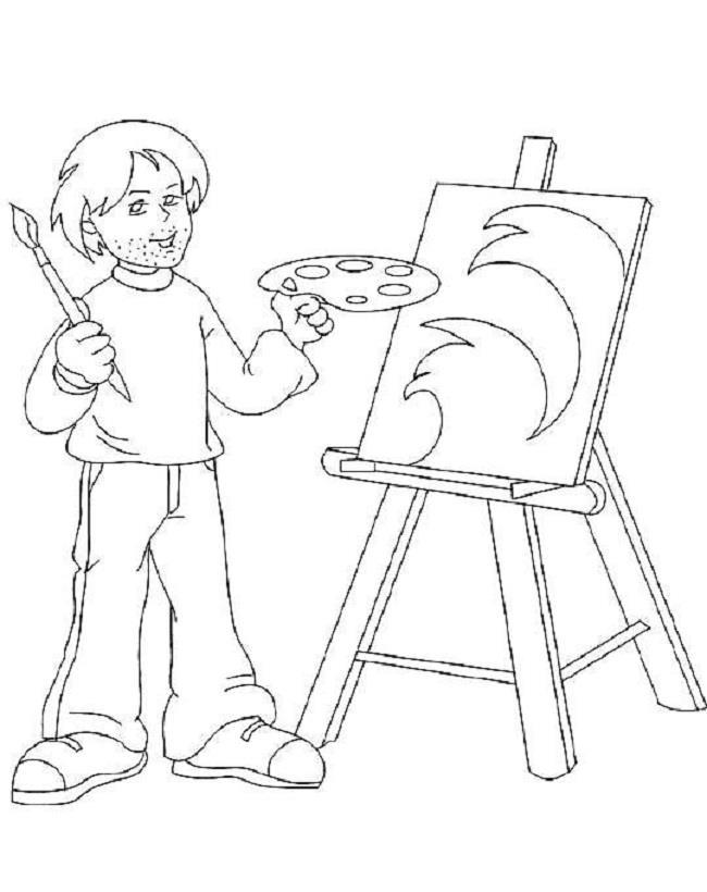 रंग चित्रों के कैरियर के विषयों का सारांश