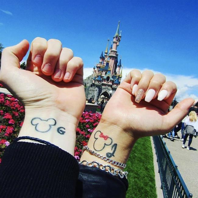 Coleção de tatuagens de casal-Tatuagens de casal