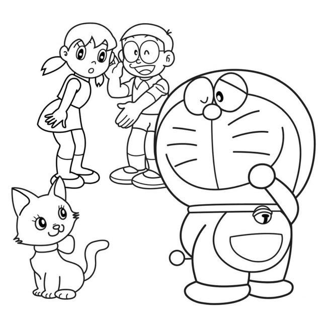 مجموعه ای از زیباترین تصاویر رنگ آمیزی Nobita
