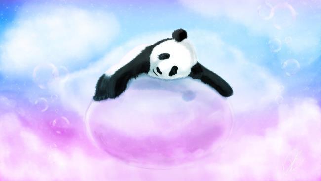 Koleksi gambar Panda yang indah