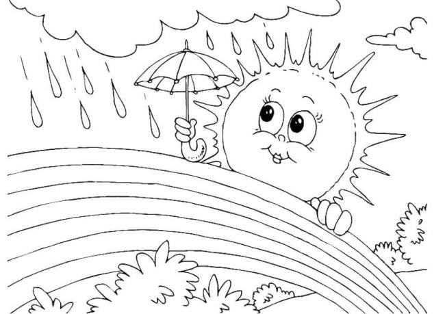 सूर्य को चित्रित करने के लिए सबसे सुंदर चित्रों का सारांश