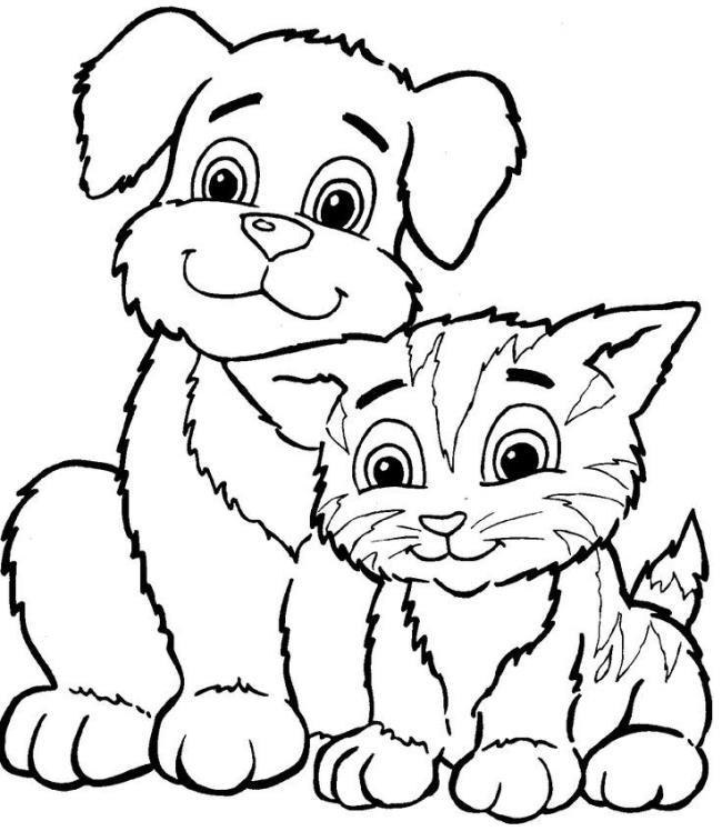 家族のペットのぬり絵のまとめ