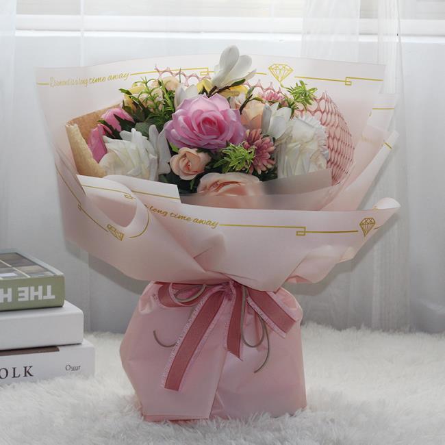 कागज के फूलों का सुंदर गुलदस्ता
