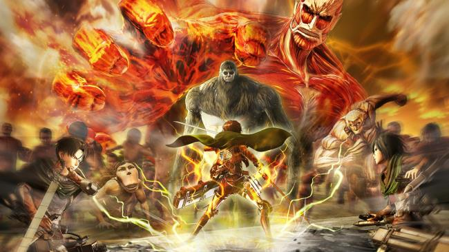 Synthese des schönsten Attack On Titan-Bildes