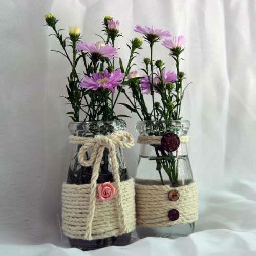 Résumé de belles fleurs artificielles