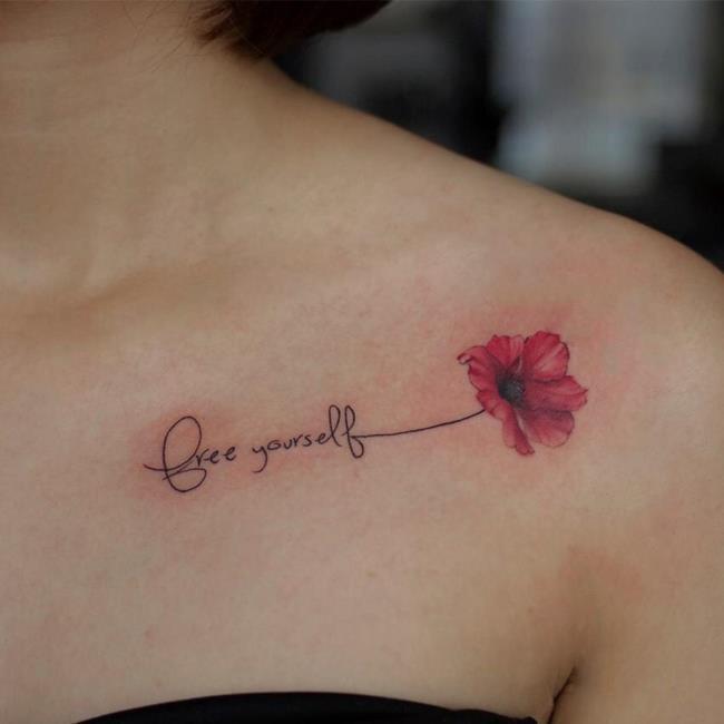 Sammlung der schönsten Tattoo-Muster für Frauen